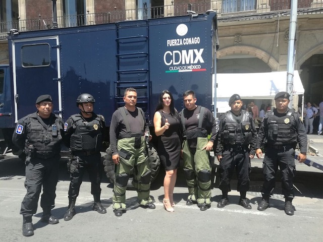 Nuevas generaciones deben prepararse en Protección Civil: Janet Hernández