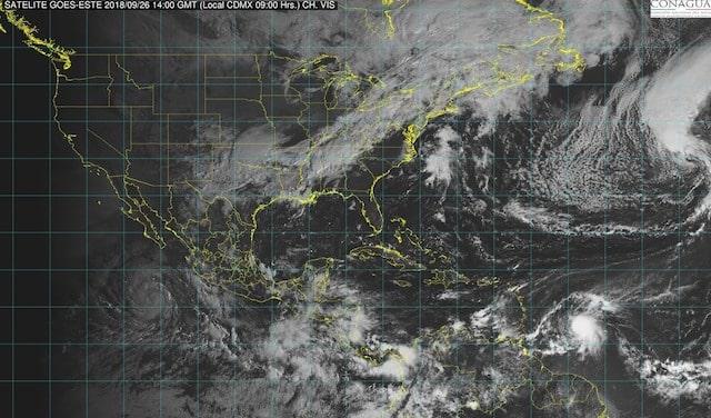 Prevén tormentas intensas en Coahuila, Nuevo León, Puebla, Nayarit, Michoacán, Oaxaca y Veracruz