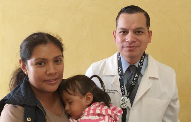 Salvan la vista de una menor en el IMSS de Morelos