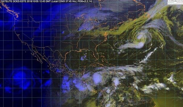 En Chiapas, Oaxaca, Veracruz y Tabasco se prevén tormentas intensas
