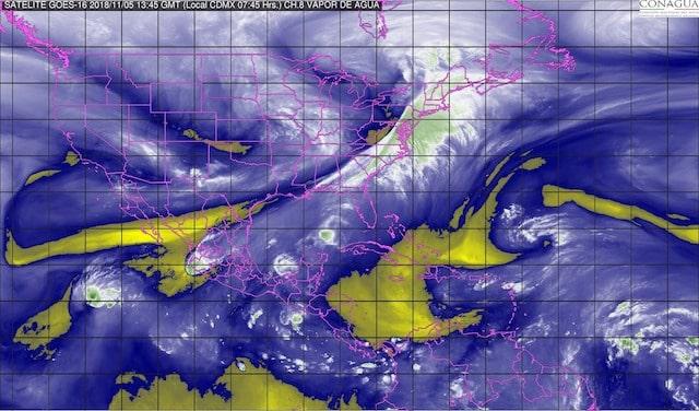 Xavier ocasionará tormentas fuertes en Nayarit, Jalisco y Colima