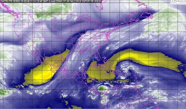 Pronostican onda gélida con marcado descenso de temperatura para la mayor parte de México