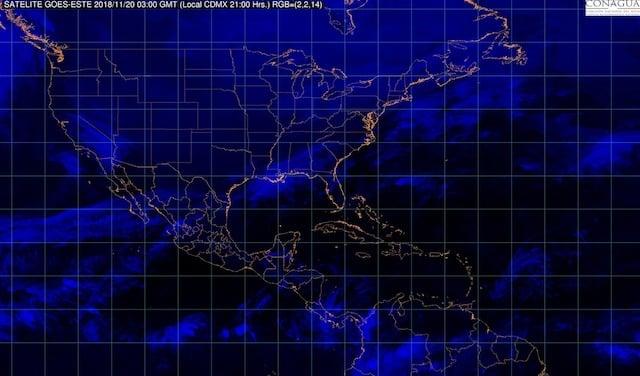 Se pronostican tormentas y descenso de temperaturas en el norte, el noreste y el oriente de México