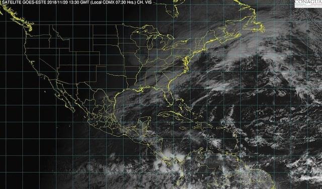 Tormentas intensas, se prevén en Veracruz, Oaxaca y Chiapas