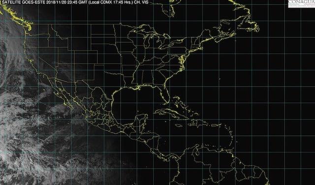 Se prevén tormentas puntuales muy fuertes en Veracruz, Oaxaca y Chiapas la noche de hoy