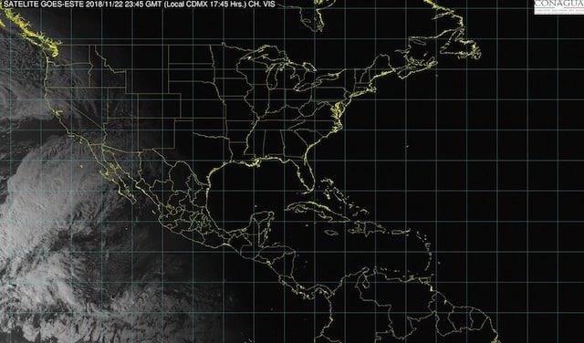 Lluvias puntuales fuertes se prevén en regiones de Veracruz, Oaxaca y Chiapas la noche de hoy