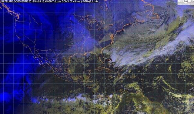 Condiciones meteorológicas estables con bajo potencial de lluvias se prevén en la mayor parte de México