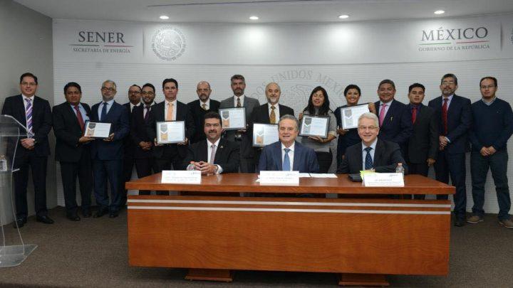 Reconoce SENER a mejores propuestas tecnológicas para desarrollo sustentable de México