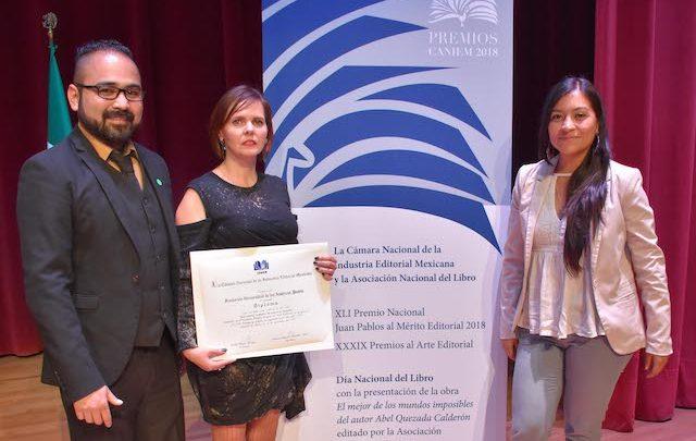 El Libro Los colibríes de México de la UDLAP obtiene premio