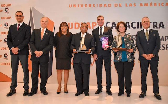 Entregan UDLAP y CANACINTRA galardón a empresas con altos estándares de innovación, mejora continua y responsabilidad social