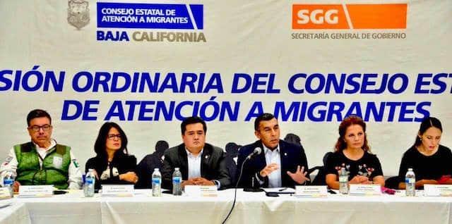 Establece Gobierno de Baja California en coordinación con la sociedad civil protocolos de atención a migrantes