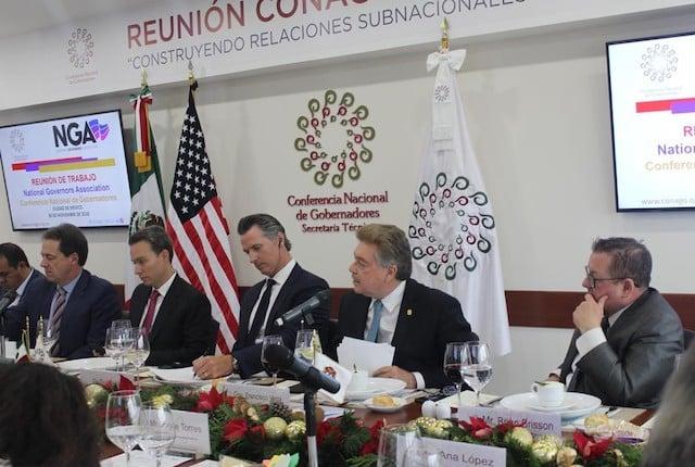 Se reúne Gobernador Kiko Vega con Gobernador electo de California, Gavin Newsom