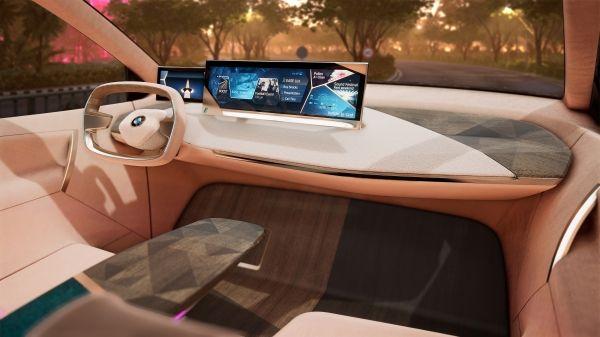 BMW Group en el CES 2019 en Las Vegas. Conducción virtual en el BMW Vision iNEXT