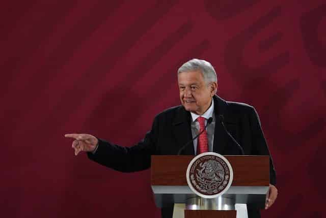 Tarjeta informativa de la Conferencia de Prensa Matutina del presidente López Obrador 16/04/19