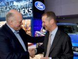 Ford y Volkswagen, comprometidos con explorar una potencial colaboración en vehículos eléctricos, autónomos y servicios de movilidad