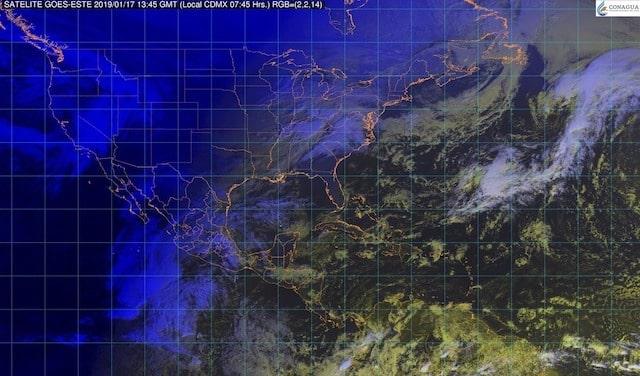 Pronostican tormentas fuertes para Baja California y lluvias con intervalos de chubascos para otras 13 entidades de México