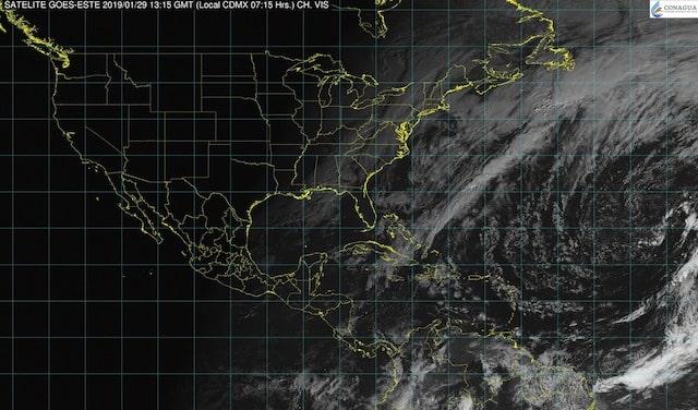 En Veracruz, Puebla, Oaxaca, Chiapas y Tabasco se prevén tormentas fuertes
