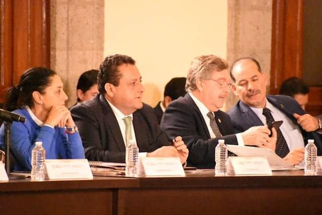 Participa Gobernador Francisco Vega en la Tercera Reunión del Consejo Nacional de Seguridad Pública