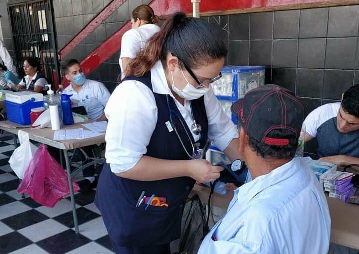 Da seguimiento Gobierno de Baja California a salud de la Caravana Migrante