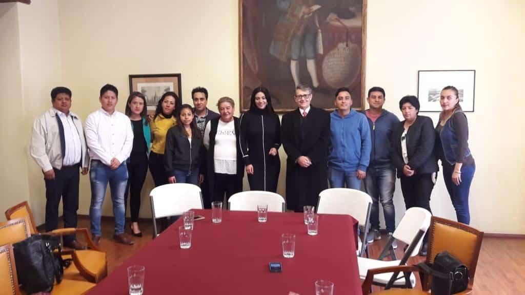 Presidenta de Red Ciudadana y Mujeres Embajadoras, Janet Hernández con Secretario de Cultura de la Ciudad de México, Alfonso Suárez del Real