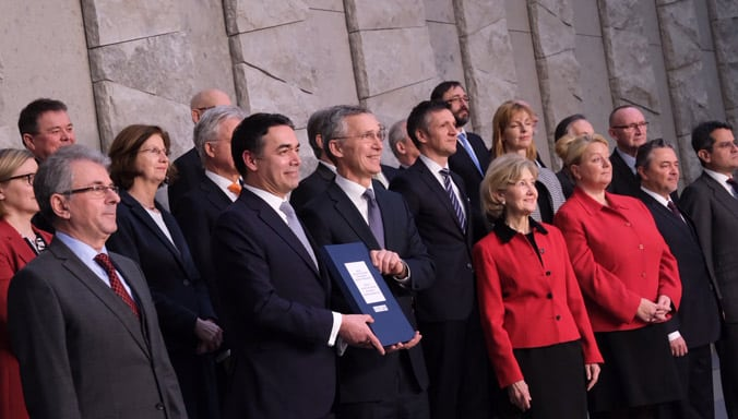Sign NATO Allies Accession Protocol for the future Republic of North Macedonia