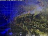 El Frente Frío Número 40, asociado con un canal de baja presión, generará la Octava Tormenta Invernal en el noroeste de México