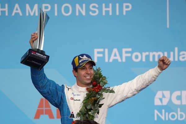 António Félix da Costa obtiene segundo lugar en podio para BMW i Andretti Motorsport en E Prix de CDMX