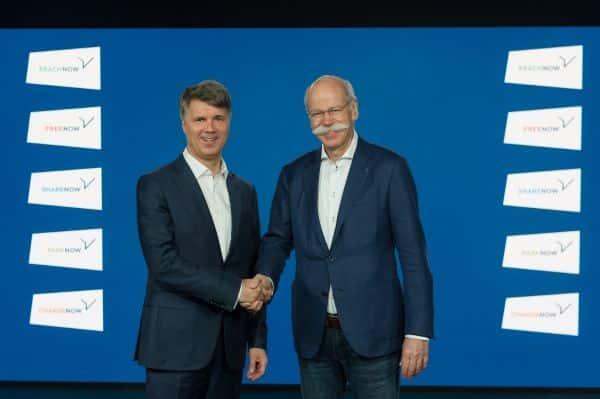 BMW Group y Daimler AG invierten más de 1,000 millones de euros en un proveedor conjunto de servicios de movilidad.