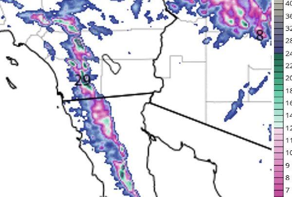 Emite gobierno de Baja California recomendaciones ante pronóstico de nevadas, lluvias y bajas temperaturas