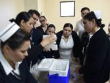 Realiza gobierno de Baja California curso sobre aplicación de vacunas en hospital materno infantil de Mexicali