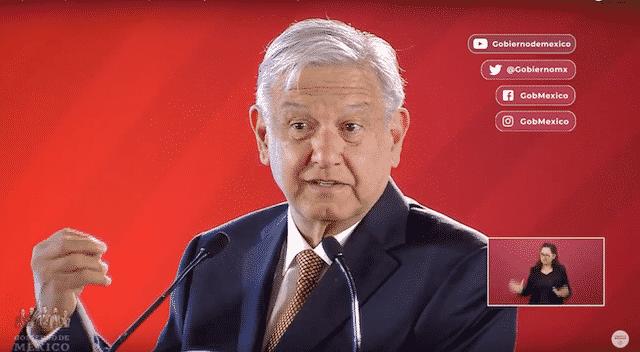 Tarjeta informativa de la Conferencia de Prensa Matutina del presidente López Obrador 08/02/2019