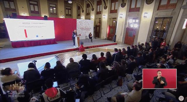 Tarjeta informativa de la Conferencia de Prensa Matutina del presidente López Obrador 12/02/19