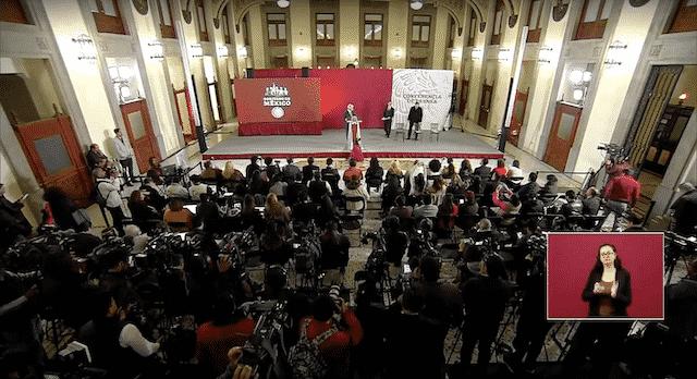 Tarjeta informativa de la Conferencia de Prensa Matutina del presidente López Obrador 15/02/19