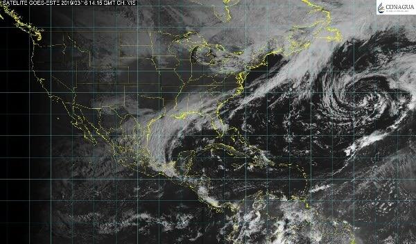 Tormentas intensas con actividad eléctrica y posible granizo se pronostican para Veracruz, Puebla, Chiapas y Tabasco