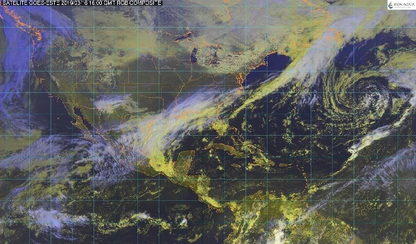 Pronostican tormentas intensas para Veracruz, Oaxaca, Chiapas, Tabasco y Campeche