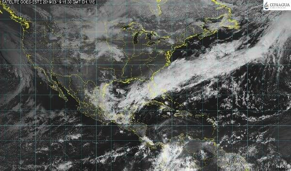 Prevén tormentas de fuertes a muy fuertes con relámpagos y granizo en Nuevo León, Zacatecas, Tamaulipas y San Luis Potosí