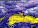 Se prevén tormentas fuertes en Tamaulipas, Veracruz, Oaxaca, la Península de Yucatán y el sureste de México