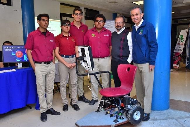 Muestran alumnos de CECyTE BC proyectos tecnológicos