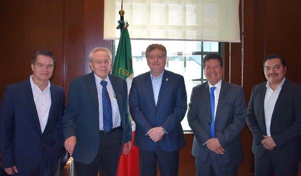 Sostiene Gobernador Francisco Vega reunión de trabajo con Secretario de Salud para avanzar en el programa de salud universal