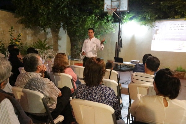 Promotores de la SSP Sinaloa ofrecen herramientas preventivas a la sociedad