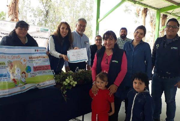 Certifica gobierno de Baja California a ejidos Pátzcuaro, Islas Agrarias b y colonia Pólvora como entornos saludables