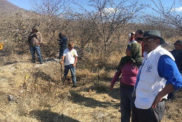 Acompaña CNDH en la búsqueda en campo de personas desaparecidas y demanda sensibilidad de las autoridades ante su dolor e indignación