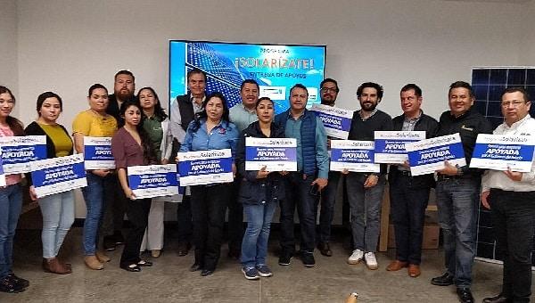 Apoya gobierno de Baja California a 75 negocios en ahorro de energía con sistema fotovoltaico