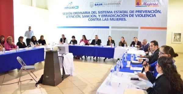 Participa gobierno de Baja California en la presentación de avances en prevención, atención, sanción y erradicación de violencia contra la mujer