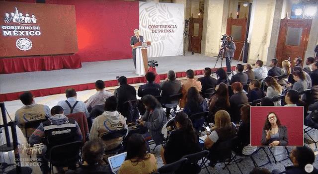 Tarjeta informativa de la Conferencia de Prensa Matutina del presidente López Obrador 15/03/19