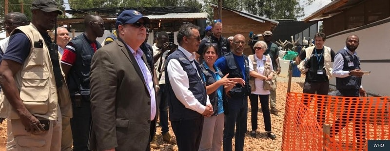 WHO Director-General reiterates commitment to Ebola response despite another attack