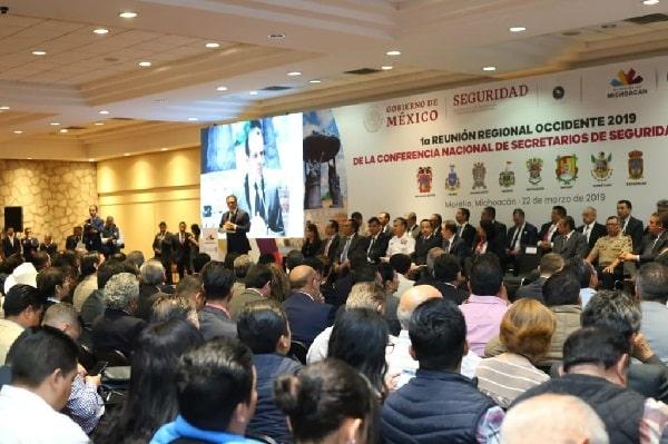 Michoacán ha superado de manera extraordinaria debilitamiento institucional: Federación