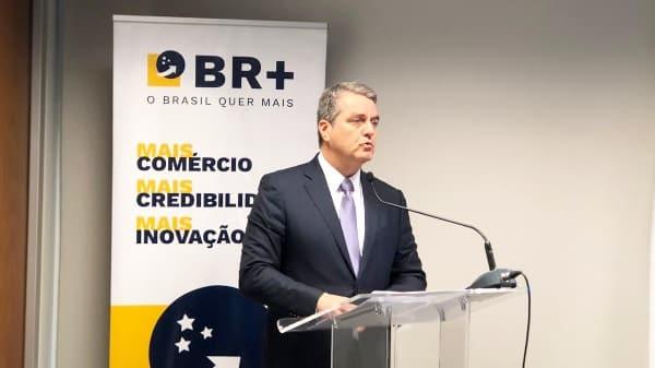 El Director General Roberto Azevêdo dice en el Brasil que la aplicación de políticas comerciales abiertas es fundamental para impulsar la competitividad