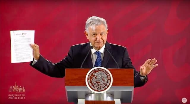 Tarjeta informativa de la Conferencia de Prensa Matutina del presidente López Obrador 19/03/19