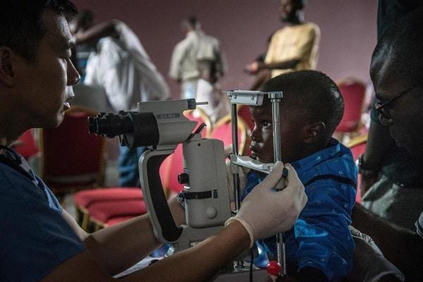 Eye care for Ebola survivors